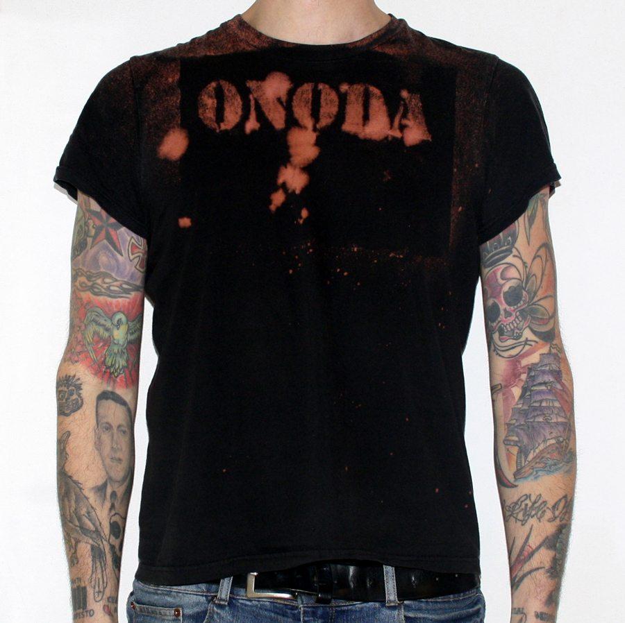 bleached diy t-shirt