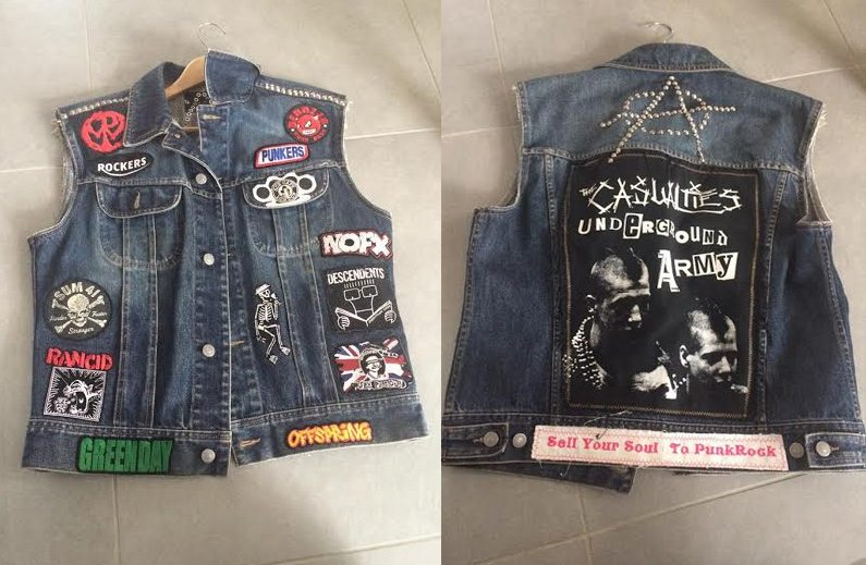 classic sleeveless denim jackets