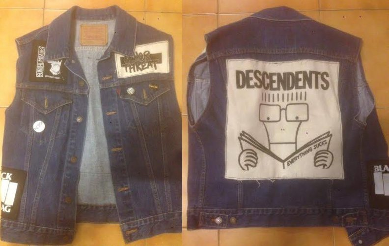 Descendents and Minor Threat Punk Jackets