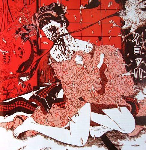 Suehiro-bird-eating-her-face
