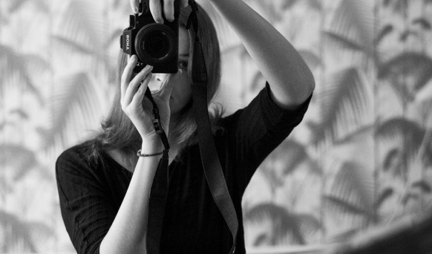ELENA HELFRECHT selfportrait