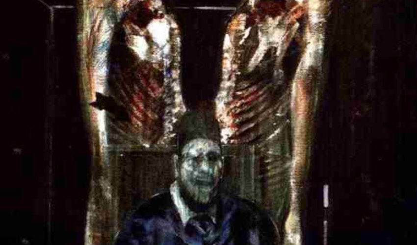 Francis Bacon Figure with Meat